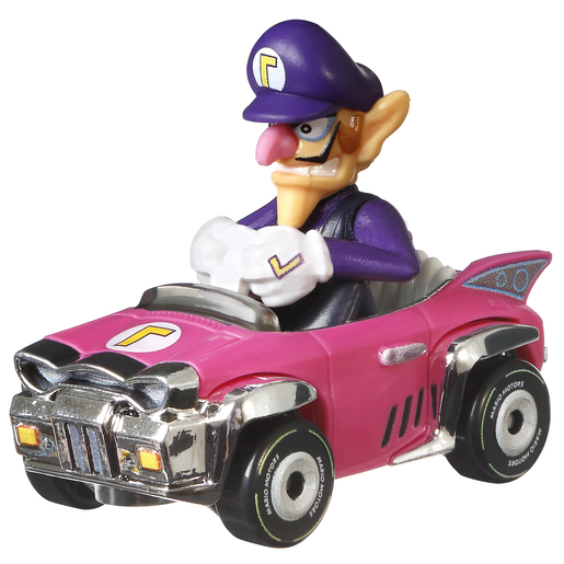 Hot Wheels Mario Kart - Waluigi