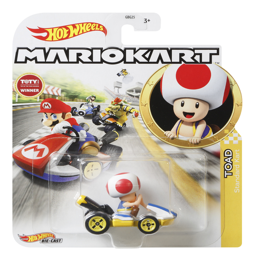 Hot Wheels Mario Kart - Toad