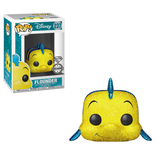 Funko Pop! Disney: The Little Mermaid - Flounder