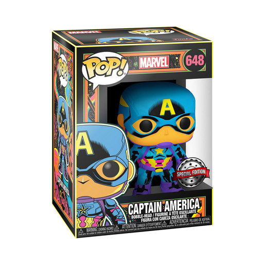 Funko Pop! Marvel : Bobble-Head - Captain America