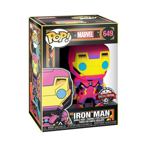 Funko Pop! Marvel : Bobble-Head - Iron Man