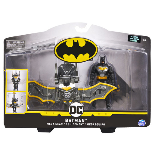 DC Batman 1st Edition Mega Gear Figure
