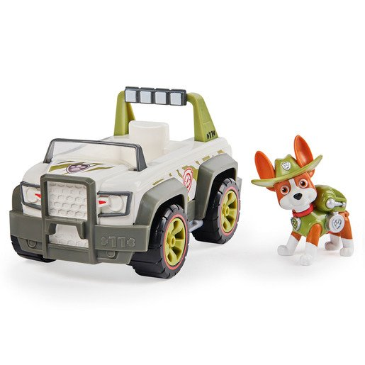 Paw Patrol Tracker's Jungle Cruiser Vehicle and Figure