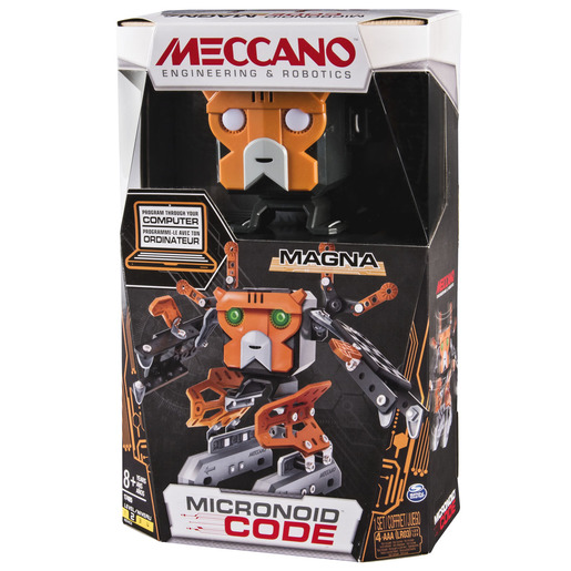 Meccano Programmable Robot Building Kit - Magna