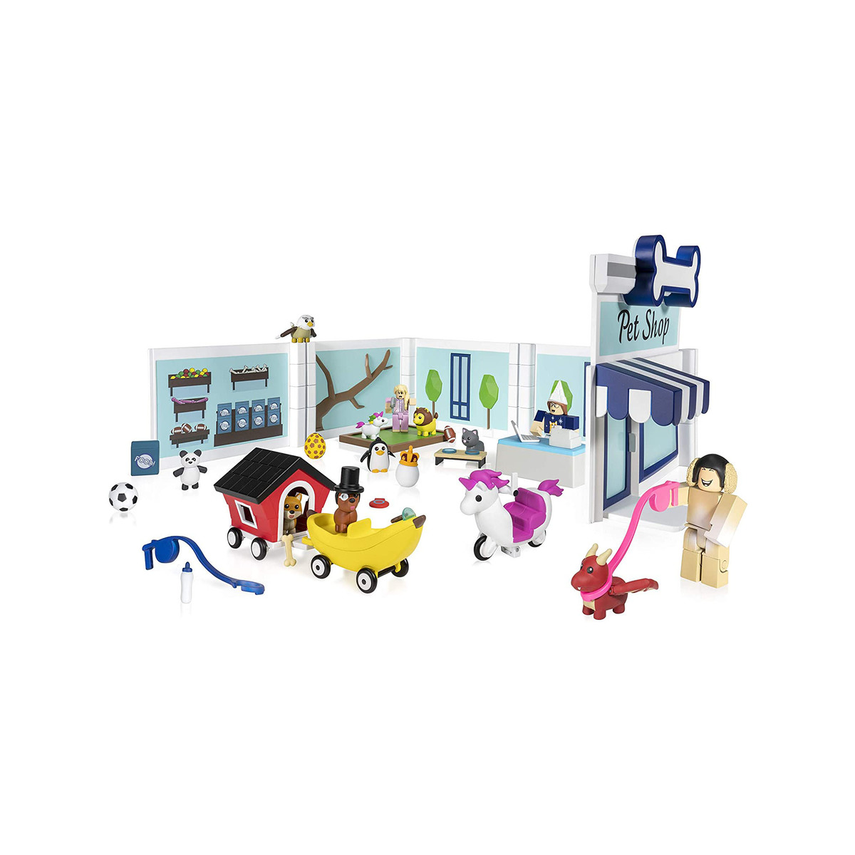 Roblox Adopt Me Deluxe Pet Store Playset The Entertainer