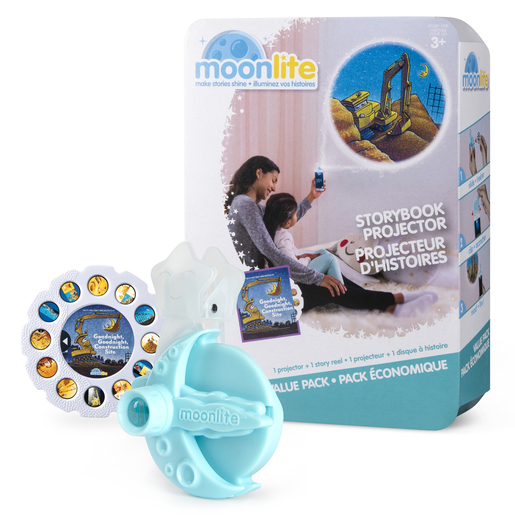 Moonlite Storybook Projector - Goodnight, Goodnight, Construction Site