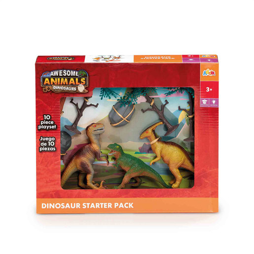 Awesome Animals Dinosaur Starter Pack