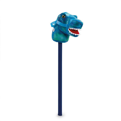 Pitter Patter Pets Roar & Ride Dinosaur - Blue Raptor