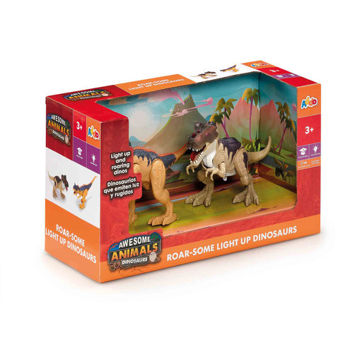 Awesome Animals Roar-some Light Up Dinosaurs