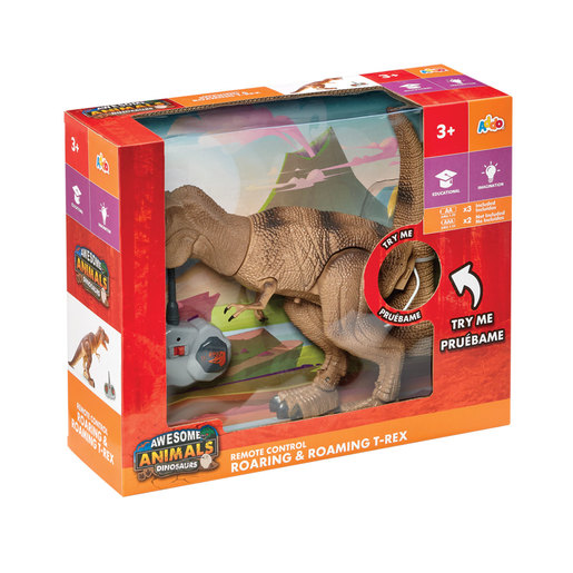 Awesome Animals RC Roaring & Roaming T-Rex