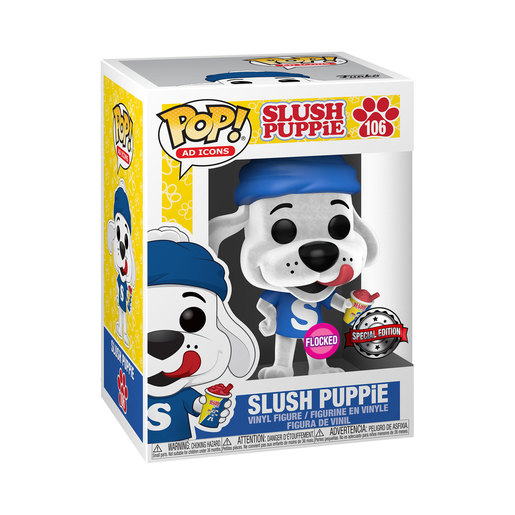 Funko Pop! AD Icons: Icee - Slush Puppie (Flocked, Special Edition) (UK Exclusive)