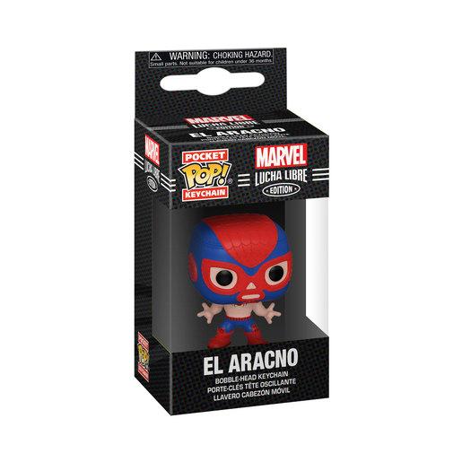 Funko Pop! Keychain: Marvel Luchadores  Spider Man