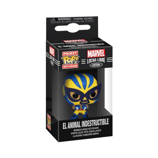 Funko Pop! Keychain: Marvel Luchadores- Wolverine