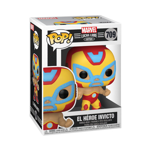 Funko Pop! Marvel: Luchadores - Iron Man