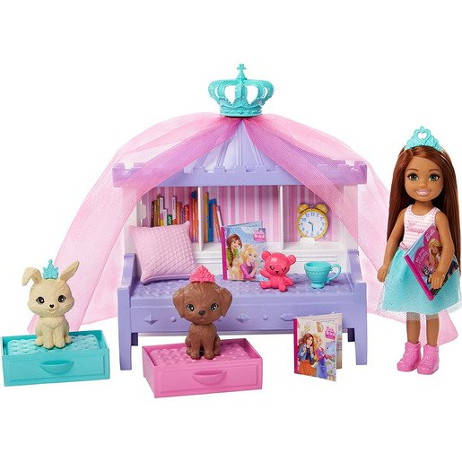 Barbie Princess Adventure Chelsea Pet Castle Playset