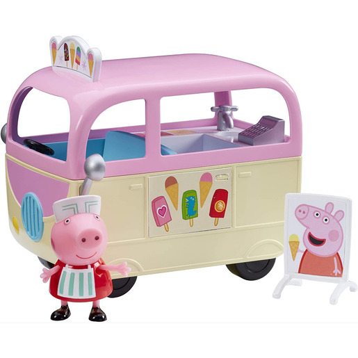 Peppa Pig Vehicle and Figure - Ice Cream Van