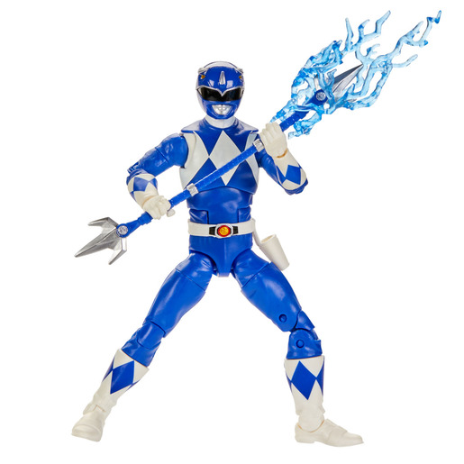 Power Rangers Lightning Collection - Mighty Morphin : Blue Ranger 6-inch-scale Figure