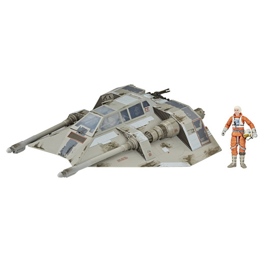 Star Wars Black Series - Episode V: Snowspeeder and Dak Ralter 6-inch-scale Figure and Vehicle