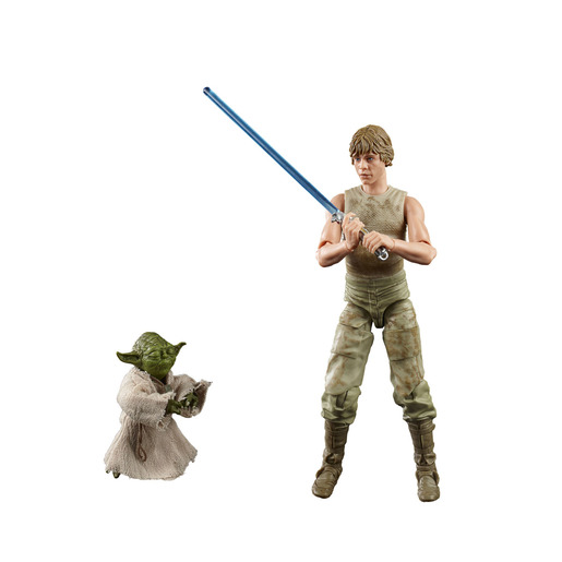 Star Wars Black Series - Episode V: Deluxe Luke Skywalker and Yoda 6-inch-scale Figures