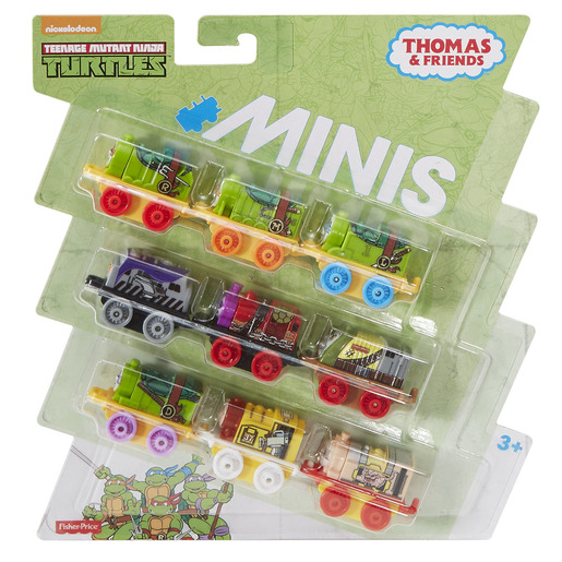 Thomas & Friends Mini 9 Pack - Teenage Mutant Ninja Turtles