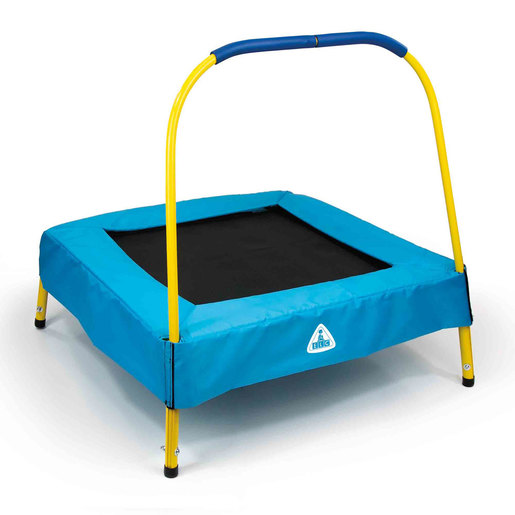 Early Learning Centre Junior 2.6ft Trampoline   Blue