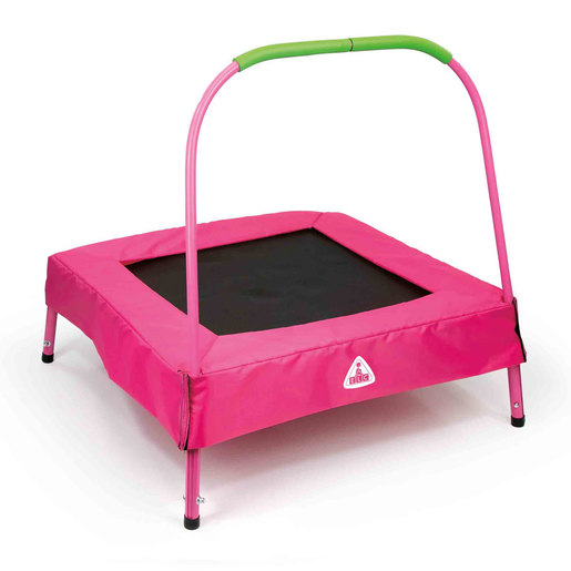 Early Learning Centre Junior 2.6ft Trampoline   Pink