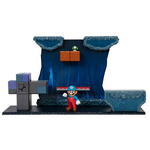 Super Mario Underground Playset With 2.5 Inch Figure
