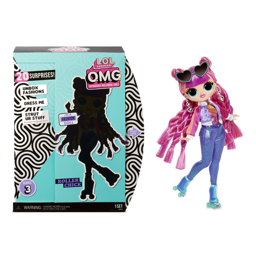 L.O.L. Surprise! Outrageous Millennial Girls Fashion Doll - Roller Chick