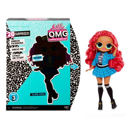 L.O.L. Surprise! Outrageous Millennial Girls Fashion Doll - Class Prez