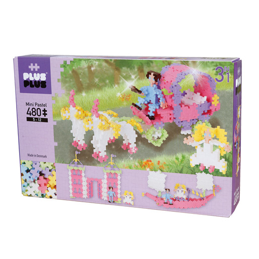 Plus Plus Mini Pastel Set - 480 Pieces