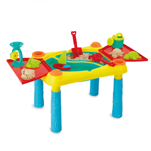 Out & About Deluxe Sand and Water Table with Lid & Accessories