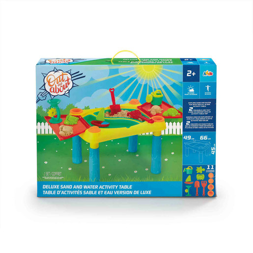 Out and About Deluxe Sand and Water Table