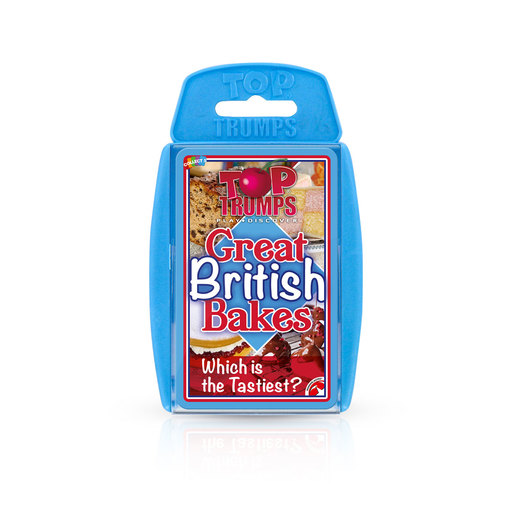 Great British Bakes Top Trumps Card Game
