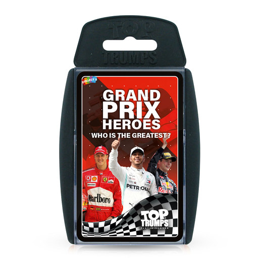 Grand Prix Hero Top Trumps Card Game