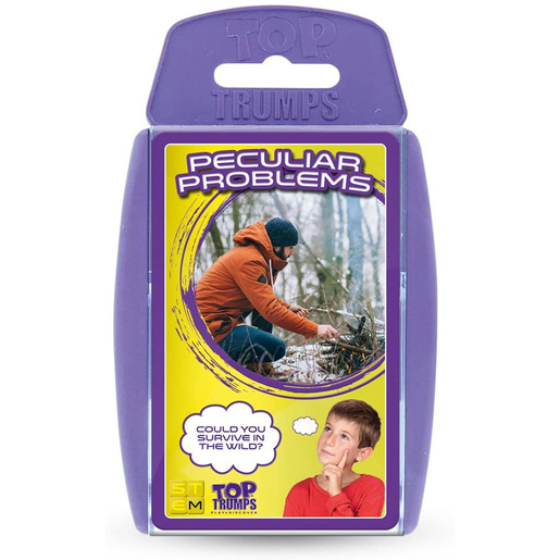 Top Trumps Peculiar Problems Card Game