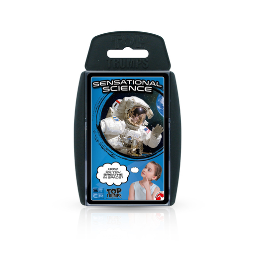 Top Trumps Sensational Science Card Game
