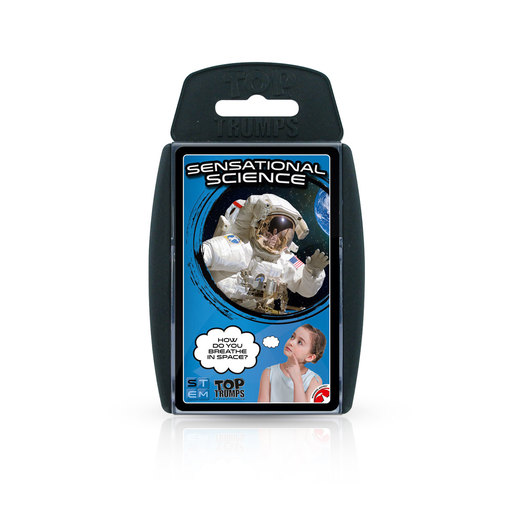 Sensational Science Top Trumps Card Game