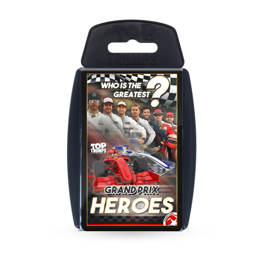 Top Trumps Sport Grand Prix Heroes Card Game