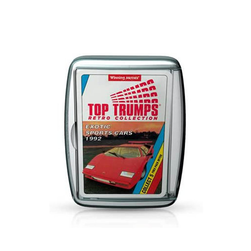 Top Trumps Retro Collection - Exotic Sports Cars Card Game