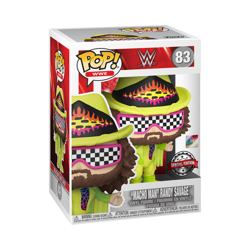 Funko Pop! WWE: Macho Man Randy Savage (Special Edition)