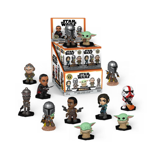 Funko Pop! Star Wars The Mandalorian: Mystery Minis (Styles Vary)