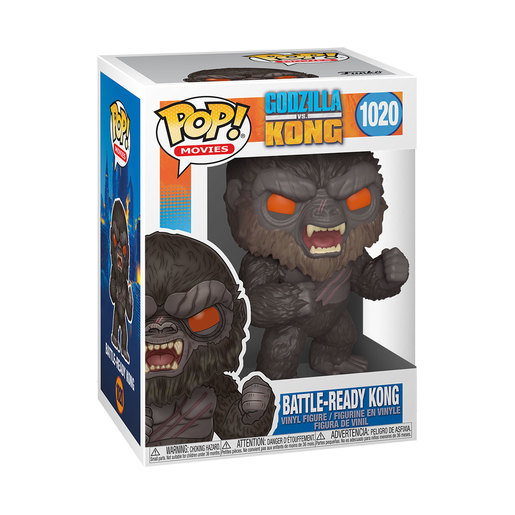 Funko Pop! Movies: Godzilla Vs Kong - Battle Ready Kong
