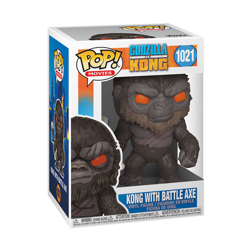 Funko Pop! Movies: Godzilla Vs Kong - Kong With Battle Axe