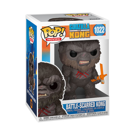 Funko Pop! Movies: Godzilla Vs Kong - Battle Scared Kong