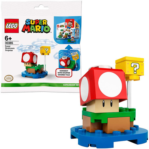 LEGO Super Mario Super Mushroom Surprise Expansion Set - 30385