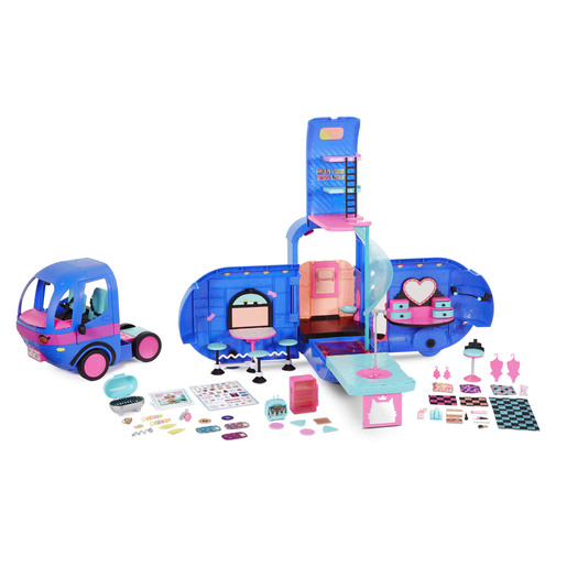 L.O.L. Surprise! Outrageous Millennial Girls 4-in-1 Glamper Fashion Camper (Electric Blue)