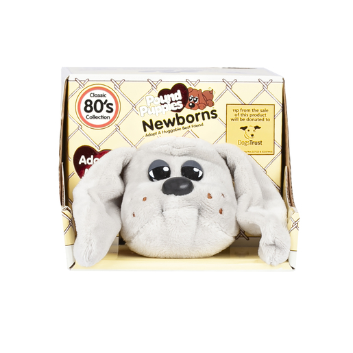 Dogs Trust Pound Puppies Newborns - Grey