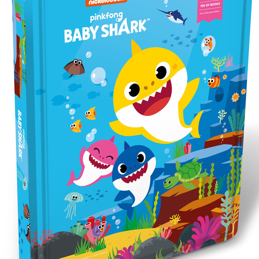 Tin of Books - Baby Shark