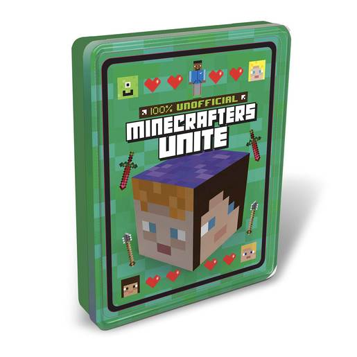 100% Unofficial Minecrafters Unite Tin of Books 2020
