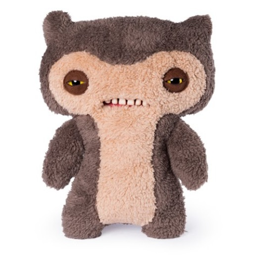 Fuggler 30cm Funny Ugly Monster - Scuffy Fox Monster Brown